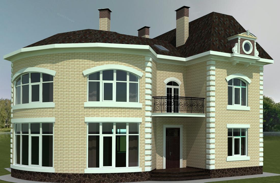 Дизайн дома фото фасад